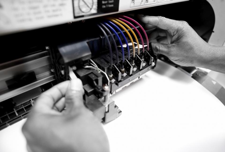 Как сделать так чтобы принтер печатал черным 79